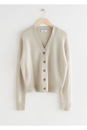 & OTHER STORIES Wool Blend Knit Cardigan