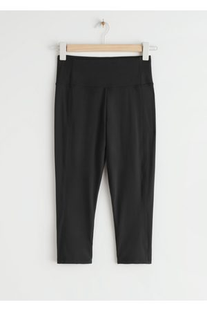 & OTHER STORIES Quick-Dry Mid Length Yoga Tights