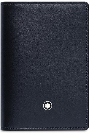 Mont Blanc Meisterstuck Leather Business Card Holder with Gusset