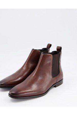 WALK LONDON Alfie chelsea boots in leather