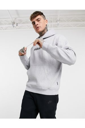 Napapijri Box hoodie in -Grey