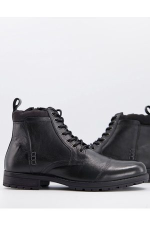 Silver Street Lace up boots in leather