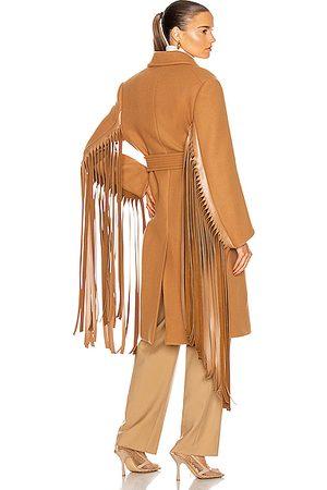 Stella McCartney Pheobe Coat in Neutral