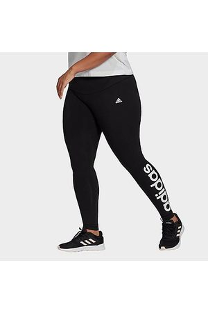 adidas Women Leggings - Women's Essentials High Waist Leggings (Plus Size) in Size Extra Large