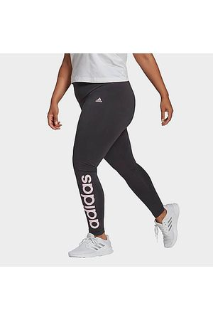 adidas Women's Essentials High Waist Leggings (Plus Size) in Grey Size Extra Large