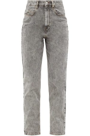 Isabel Marant Corsysr High-rise Boyfriend Jeans - Womens - Grey