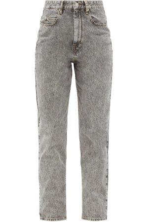 Isabel Marant Women Boyfriend Jeans - Corsysr High-rise Boyfriend Jeans - Womens - Grey