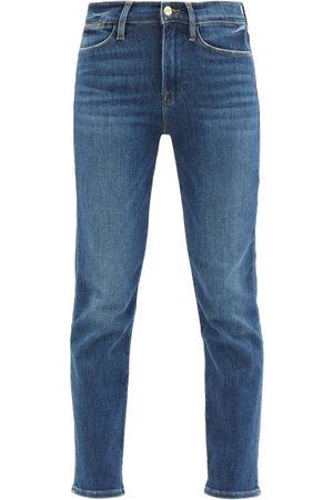 Frame Le High High-rise Straight-leg Jeans - Womens - Denim