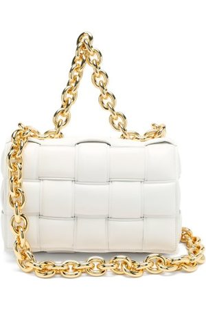 Bottega Veneta The Chain Cassette Intrecciato-leather Bag - Womens
