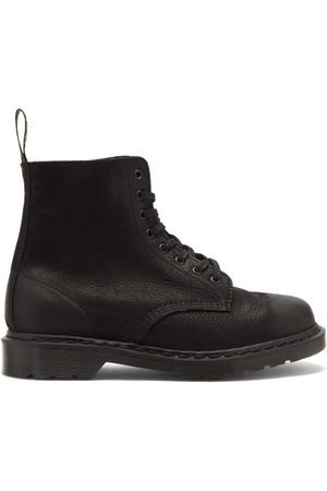 Dr. Martens 1460 Pascal Pebbled-leather Ankle Boots - Mens
