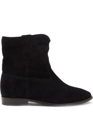 Isabel Marant - Crisi Suede Ankle Boots - Womens