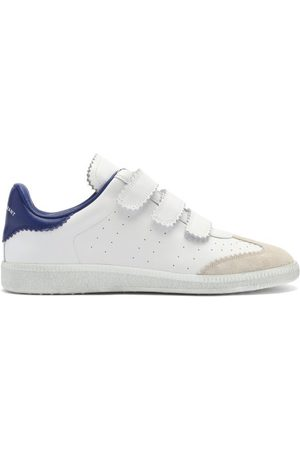 Isabel Marant Beth Leather And Suede Velcro Trainers - Womens