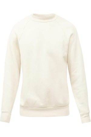 Les Tien High-neck Brushed-back Cotton Sweatshirt - Mens