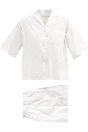 General Sleep Camilla Organic Cotton-poplin Pyjama Set - Womens