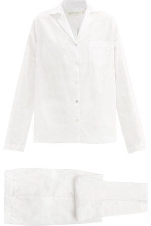 General Sleep Classic Organic Cotton-poplin Pyjamas - Womens