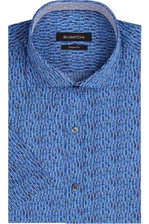Bugatchi Men's Performance Shaped Fit Watercolor Button-Up Shirt