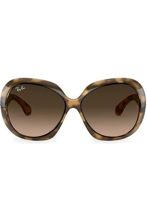 Ray-Ban Women's RB4098 60MM Jackie Ohh Oversized Round Sunglasses