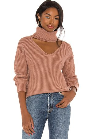Lovers + Friends Tove Sweater in Blush.