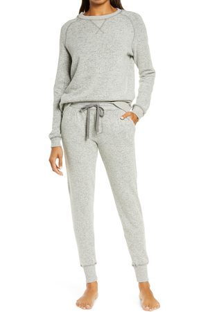 Papinelle Women's So Soft Fleece Jogger Pajamas