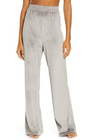 SKIMS Women's Velour Wide Leg Lounge Pants