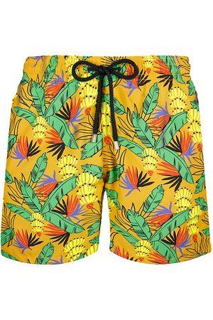 Vilebrequin Men's Moorea Go Bananas Tropical Graphic Swim Trunks - - Size Medium