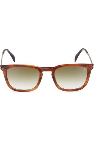 David beckham Men's 53MM Round Sunglasses