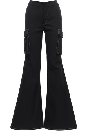 SUNNEI Women Cargo Pants - Cargo Loose Flared Workwear Pants