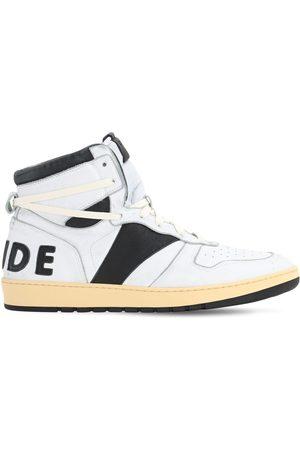 Rhude Men Sneakers - Rhecess Leather High Top Sneakers