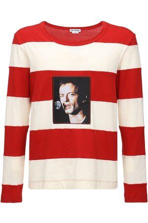 SUNNEI Men T-shirts - Striped Cotton T-shirt