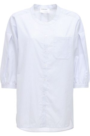 Designers Remix Women Shirts - Umbria Oversized Organic Cotton Shirt