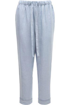 Underprotection Women Pajamas - Caroline Organic Linen Pajama Pants