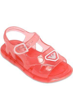 Emporio Armani Girls Sandals - Logo Jelly Sandals