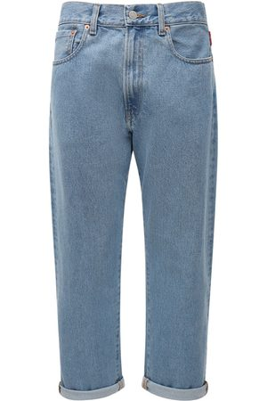 Denimist Women Boyfriend Jeans - High Waist Cotton Denim Boyfriend Jeans