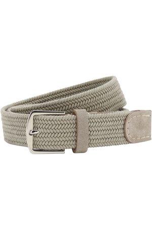 Loro Piana Men Belts - 3.5cm Sea-weave Cotton Belt