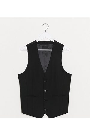 ASOS Tall skinny suit vest in