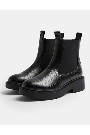 Topshop Chunky chelsea boot in