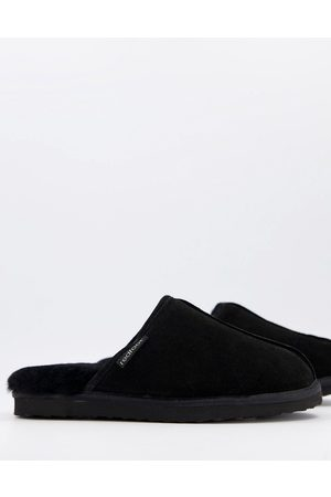 Redfoot Sheepskin mule slippers in