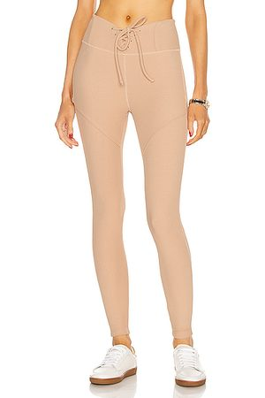 YEAR OF OURS Thermal Hockey Legging in Neutral