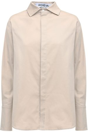 Acheval Pampa Hombre Cotton Satin Shirt