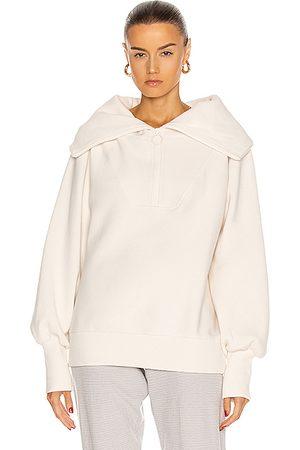 Varley Vine Half Zip Sweatshirt in Neutral