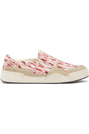 Isabel Marant Men Flat Shoes - Delleh Tie-dyed Slip-on Trainers - Mens