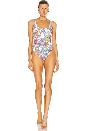 VERSACE Medusa One Piece Swimsuit in Abstract,Novelty