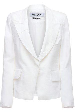 Acheval Pampa Gardel Linen Jacket