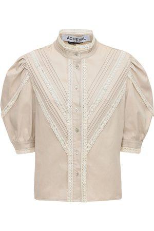 Acheval Pampa Yegua Cotton Satin Shirt