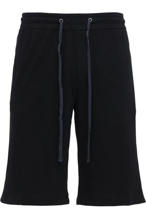 James Perse Men Shorts - Classic Cotton Sweat Shorts