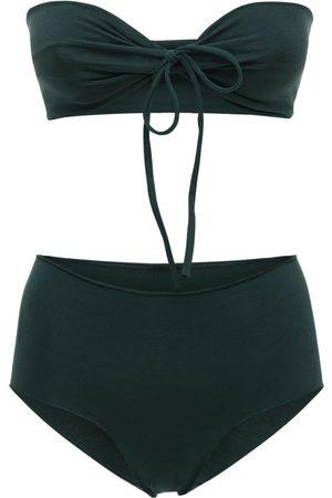 ISOLE & VULCANI Seamless Cotton Jersey Bikini