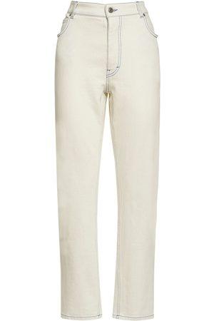Stella McCartney Women Stretch - Cotton Stretch Jeans W/ Embroidery