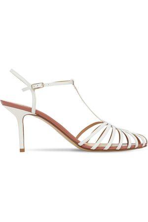 Francesco Russo 75mm Patent Leather Sandals