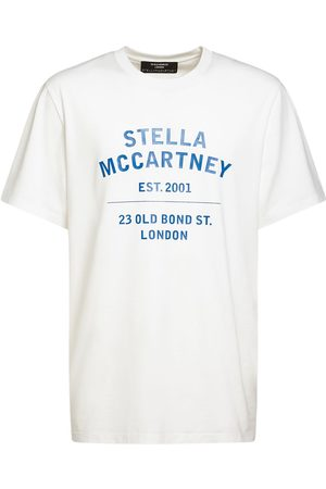 Stella McCartney Printed Logo Cotton Jersey T-shirt