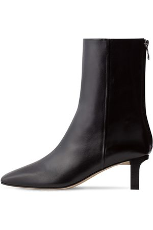 Aeyde 55mm Tilly Leather Ankle Boots